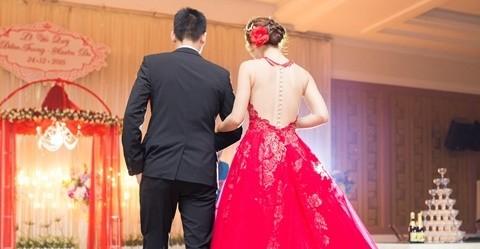 Đám cưới ngập tràn không khí Giáng sinh của Á hậu Diễm Trang - ảnh 4