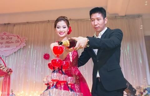 Đám cưới ngập tràn không khí Giáng sinh của Á hậu Diễm Trang - ảnh 5