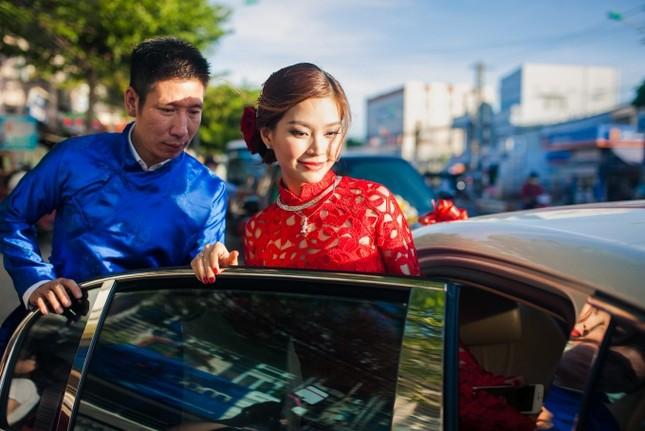 Chồng Á hậu Diễm Trang lái siêu xe 10 tỷ đi hỏi vợ - ảnh 5