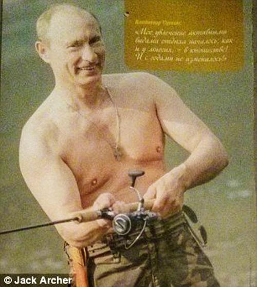 Chiêm ngưỡng ông Putin 'hoàn toàn khác' trên lịch năm mới - ảnh 3