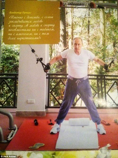 Chiêm ngưỡng ông Putin 'hoàn toàn khác' trên lịch năm mới - ảnh 4