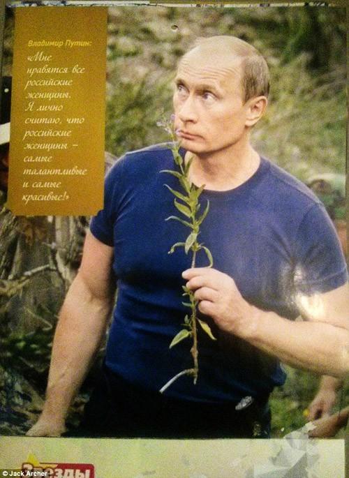 Chiêm ngưỡng ông Putin 'hoàn toàn khác' trên lịch năm mới - ảnh 2