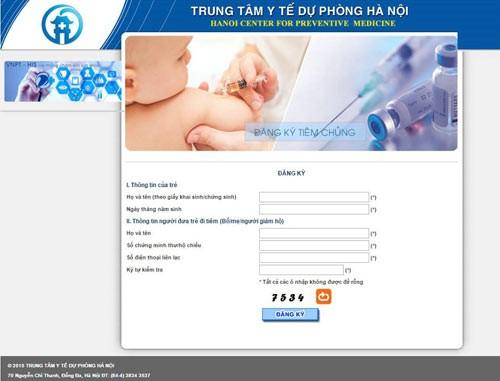 Các bước đăng kí tiêm vắc xin 5 trong 1 dịch vụ Pentaxim ở Hà Nội - ảnh 3