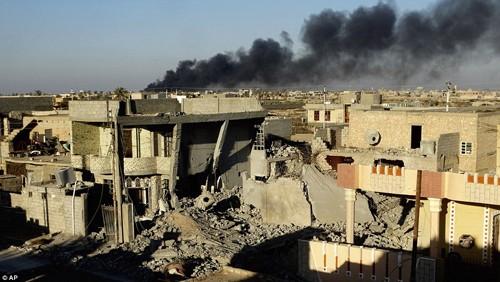 Bên trong thành phố chiến lược Ramadi quân đội Iraq tái chiếm  - ảnh 14