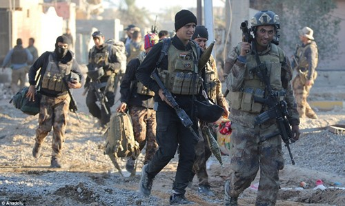 Bên trong thành phố chiến lược Ramadi quân đội Iraq tái chiếm  - ảnh 7