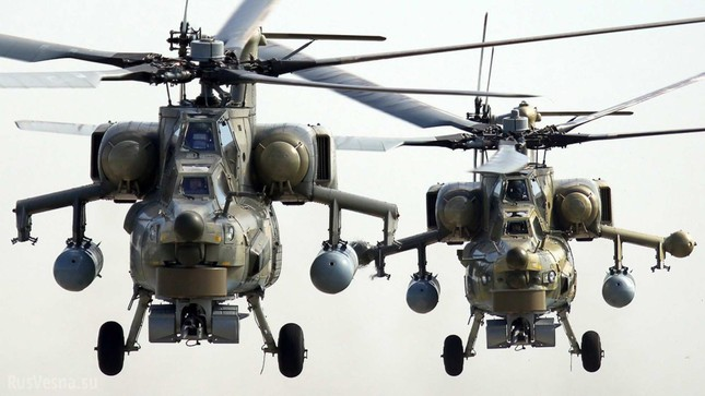 Xem 'thợ săn đêm' Mi-28 của Iraq khai hỏa thần công hủy diệt IS - ảnh 1