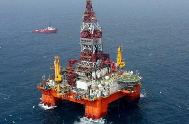 Giàn khoan Hải Dương-981 lại tiếp tục tiến vào Biển Đông - ảnh 1