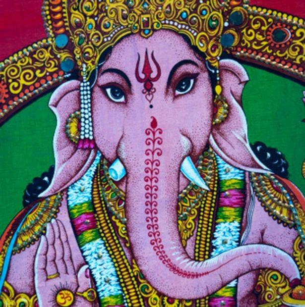 Kỳ lạ người đàn ông mặt voi tại Ấn Độ được coi như vị thần - ảnh 2