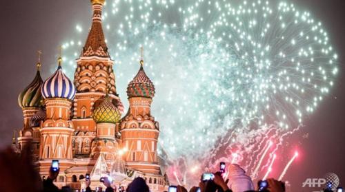 Nga đóng cửa Quảng trường Đỏ vào đêm giao thừa - ảnh 1
