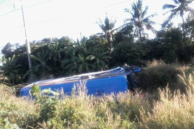 5 người Việt gặp nạn trong vụ lật xe du lịch ở Thái Lan - ảnh 1