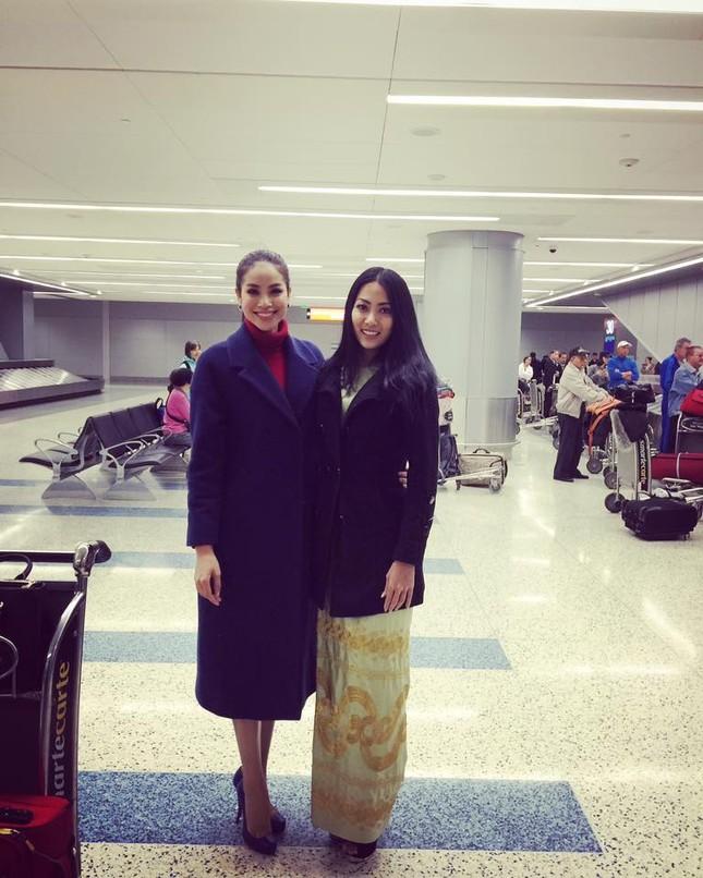 Phạm Hương 'đọ sắc' với Hoa hậu Philippines, Myanmar tại Mỹ - ảnh 2
