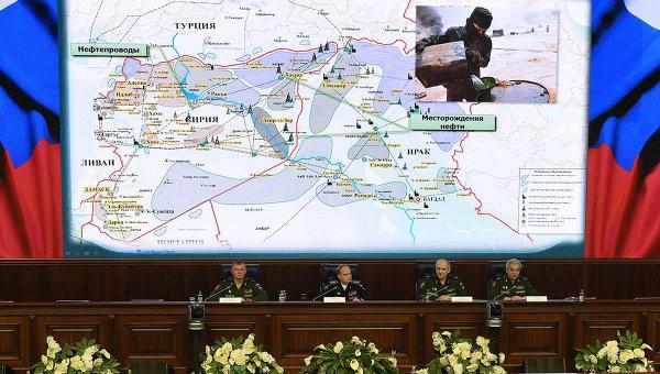 Bộ Quốc phòng Nga đưa bằng chứng Ankara làm ăn với IS - ảnh 1