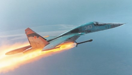 Khám phá thiết kế độc dị và sức mạnh của 'xe tăng bay' Su-34 - ảnh 3