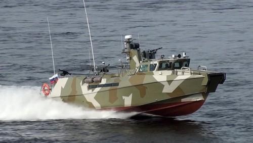 Cận cảnh 'mãnh thú' của Hải quân Nga đổ bộ quân truy đuổi tội phạm - ảnh 1
