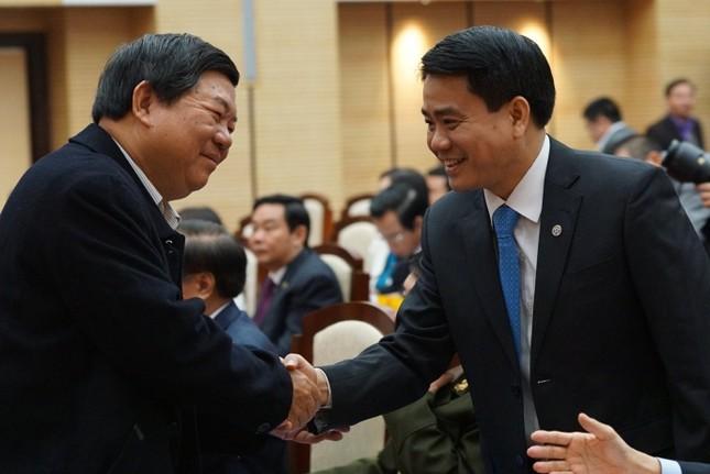 Tướng Nguyễn Đức Chung đã trúng cử Chủ tịch TP Hà Nội - ảnh 1