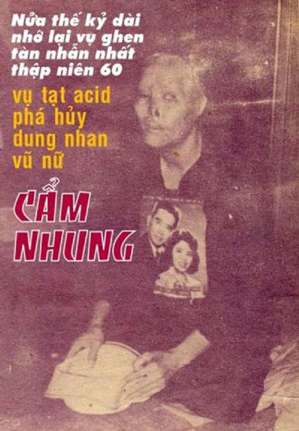 Vụ án tạt a xít ca sĩ Cẩm Nhung và những bí mật lần đầu công bố (1) - ảnh 1