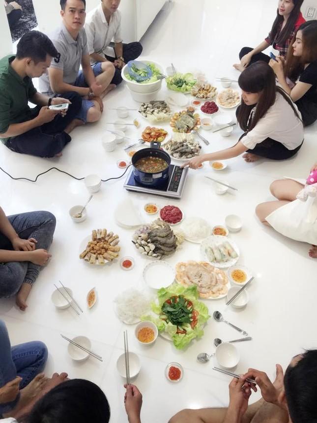 Ngọc Trinh vào bếp tổ chức tiệc cho nhân viên tại penthouse triệu đô - ảnh 8