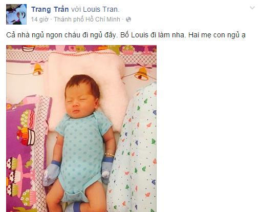 Người cha bí ẩn của con gái Trang Trần bất ngờ lộ diện? - ảnh 3
