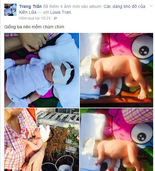 Người cha bí ẩn của con gái Trang Trần bất ngờ lộ diện? - ảnh 4