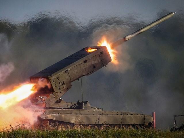 Báo Mỹ khâm phục sức mạnh hủy diệt của 'Hỏa thần' TOS-1 ở Syria - ảnh 1