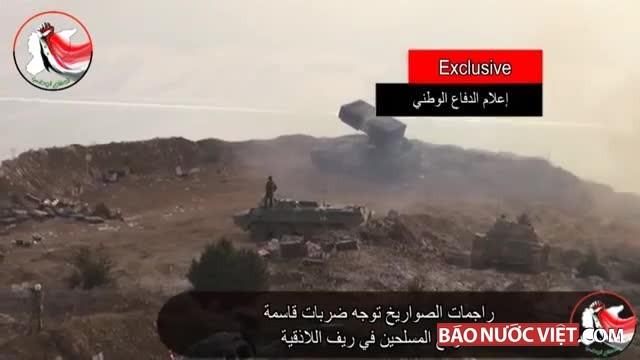 Báo Mỹ khâm phục sức mạnh hủy diệt của 'Hỏa thần' TOS-1 ở Syria - ảnh 2