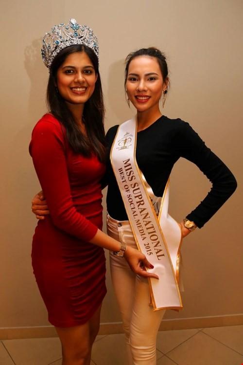 Lệ Quyên nhận giải phụ, người đẹp Paraguay là Hoa hậu Siêu quốc gia - ảnh 2