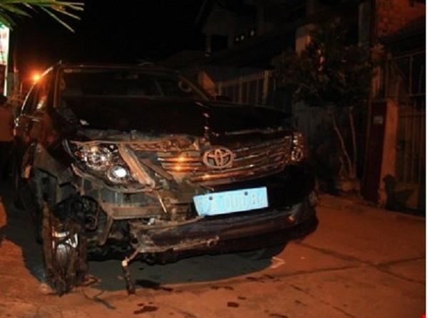 Đình chỉ công tác Viện trưởng VKSND huyện gây tai nạn rồi bỏ chạy - ảnh 1