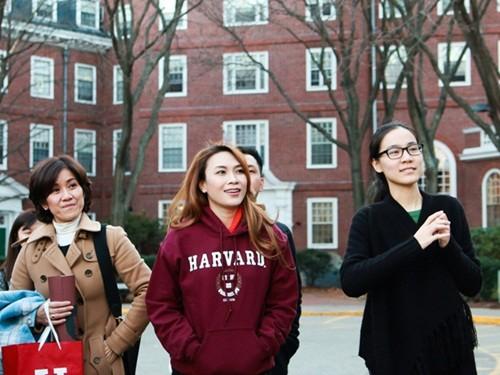 Mỹ Tâm đến Đại học Harvard thăm sinh viên Việt Nam - ảnh 1