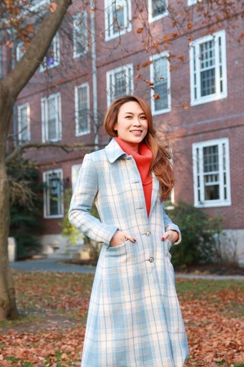 Mỹ Tâm đến Đại học Harvard thăm sinh viên Việt Nam - ảnh 7