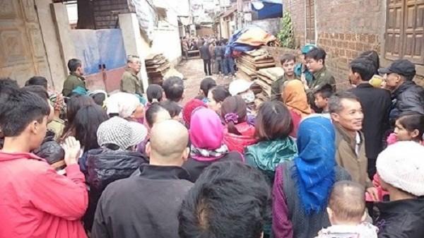 Vụ án mạng 4 người thương vong ở Thạch Thất: Bắt giữ 1 nghi phạm - ảnh 1