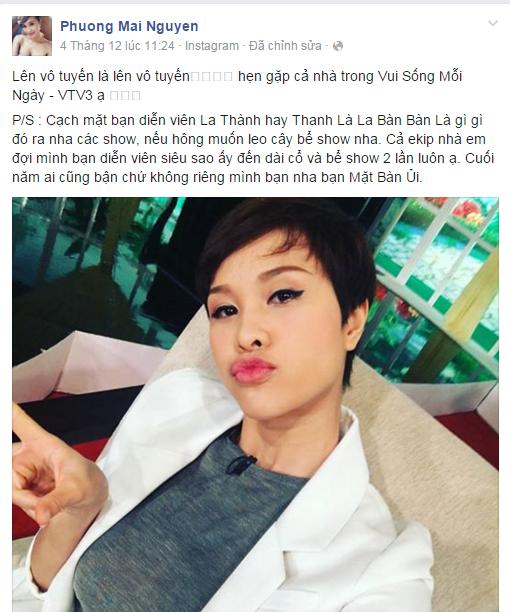 Phương Mai kêu gọi tẩy chay 'bạn trai cũ của Ninh Dương Lan Ngọc' - ảnh 1
