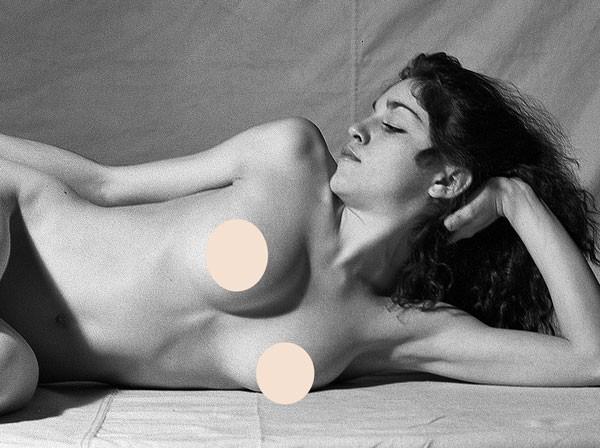 Lộ ảnh khỏa thân táo bạo tuổi 20 của Madonna - ảnh 1
