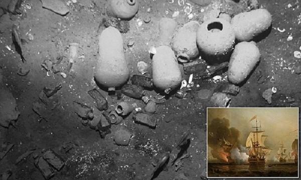 Kho báu 17 tỷ đô trong chiếc thuyền chìm 300 năm trước - ảnh 1