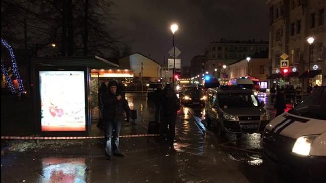 Nổ bom tại trạm xe buýt ở Nga, ít nhất 4 người bị thương - ảnh 1