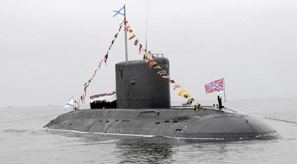 Nga đưa tàu ngầm trang bị tên lửa hành trình tới Syria - ảnh 1