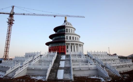 Tòa nhà nửa Washington nửa Bắc Kinh gây tranh cãi ở Trung Quốc - ảnh 3