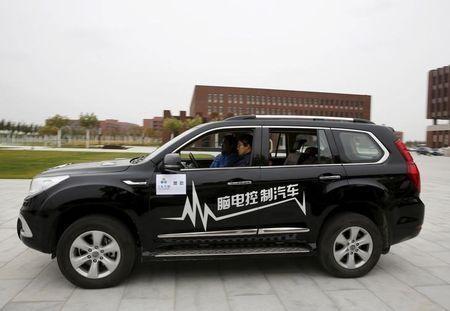 Trung Quốc thử nghiệm  xe hơi điều khiển bằng ý nghĩ - ảnh 2