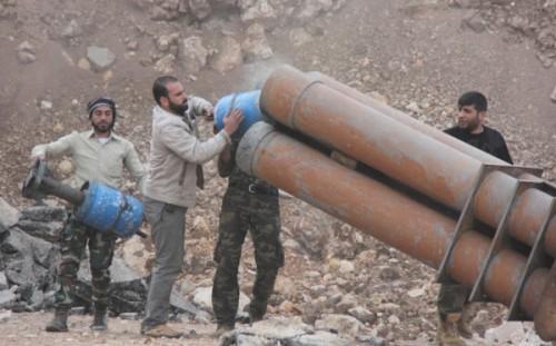 Các loại vũ khí tự chế độc nhất vô nhị của quân nổi dậy Syria - ảnh 2