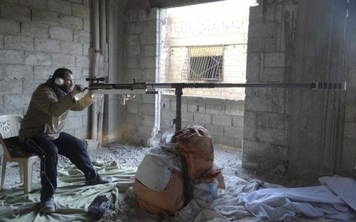 Các loại vũ khí tự chế độc nhất vô nhị của quân nổi dậy Syria - ảnh 4