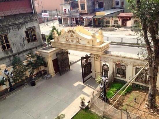 Biệt thự dát vàng 9999 kiểu hoàng gia ở Thái Nguyên gây choáng - ảnh 2