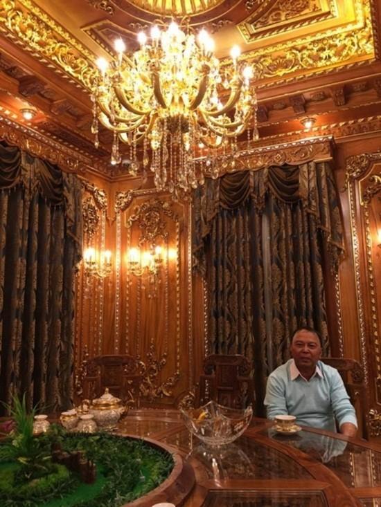 Biệt thự dát vàng 9999 kiểu hoàng gia ở Thái Nguyên gây choáng - ảnh 5