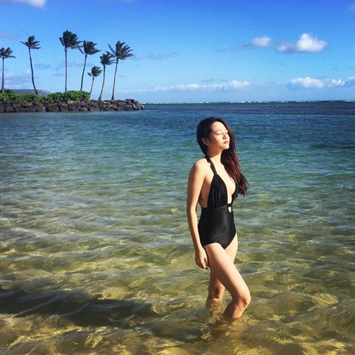 Loạt ảnh nóng bỏng, chưa hé lộ của Bảo Anh tại biển Hawaii - ảnh 4