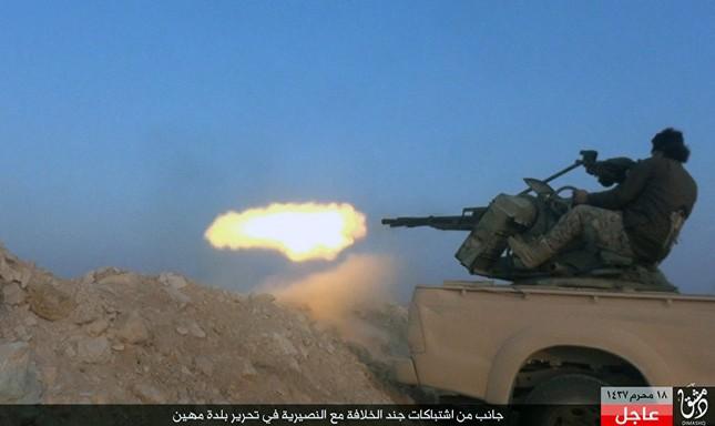 Dàn vũ khí khủng của IS khiến người xem cảm thấy lạnh gáy - ảnh 8