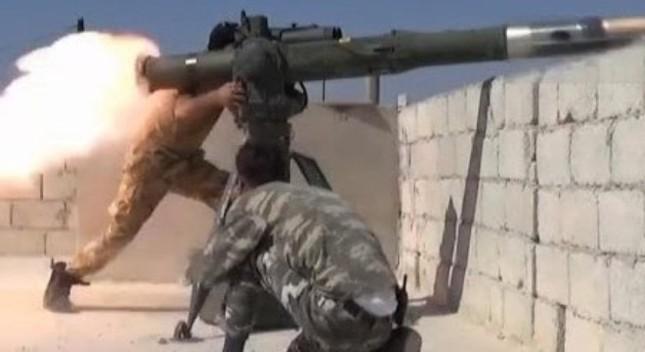 Nga điều T-90MS đến Syria để chế áp tên lửa TOW của phiến quân? - ảnh 1