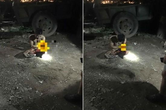 Xôn xao thanh niên nghi trộm gà bị lột đồ, chém trọng thương - ảnh 1