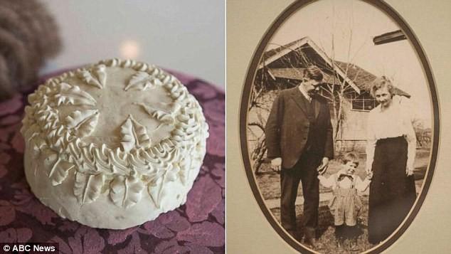 Chiêm ngưỡng chiếc bánh cưới 'trường sinh' có tuổi đời 100 năm - ảnh 3