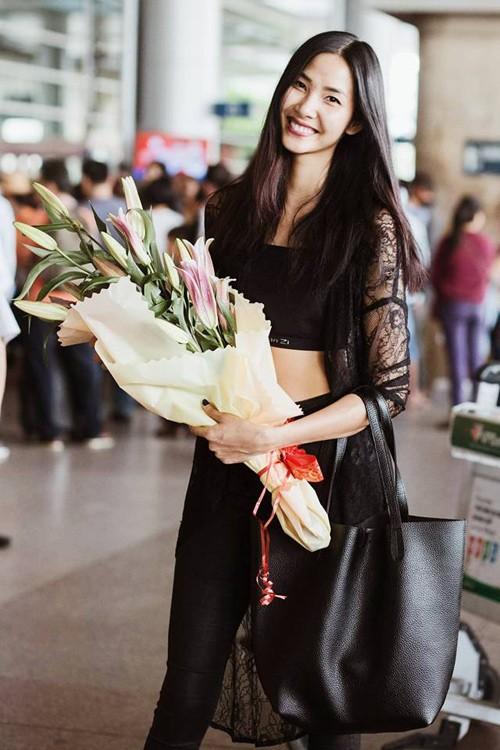 Hoa hậu Phạm Hương, Kỳ Duyên gửi lời chúc năm mới 2016 - ảnh 4