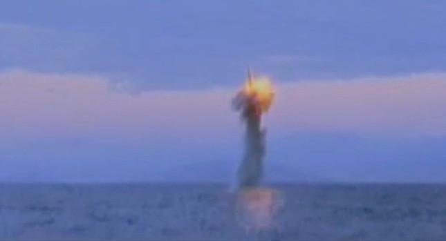 Hàn Quốc tuyên bố Triều Tiên làm giả video thử tên lửa tàu ngầm - ảnh 1