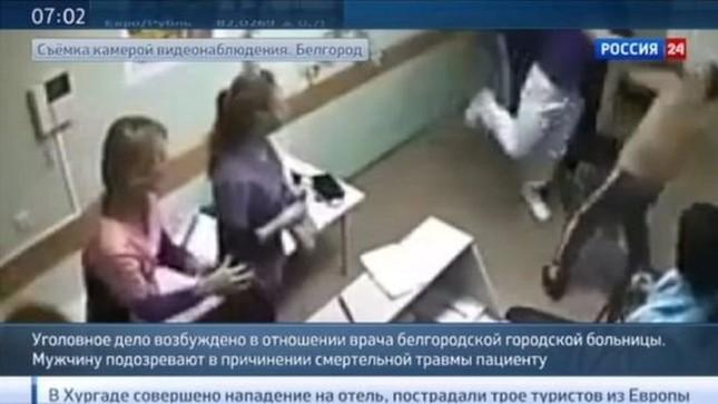 Bác sĩ đánh chết bệnh nhân gây phẫn nộ toàn nước Nga - ảnh 1