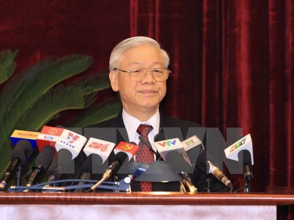 Toàn văn phát biểu của Tổng Bí thư tại Hội nghị BCH Trung ương - ảnh 1